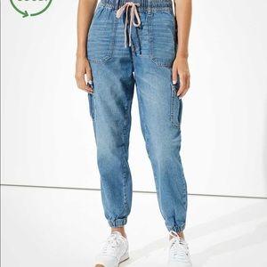 American Eagle nwt high rise jogger jeans